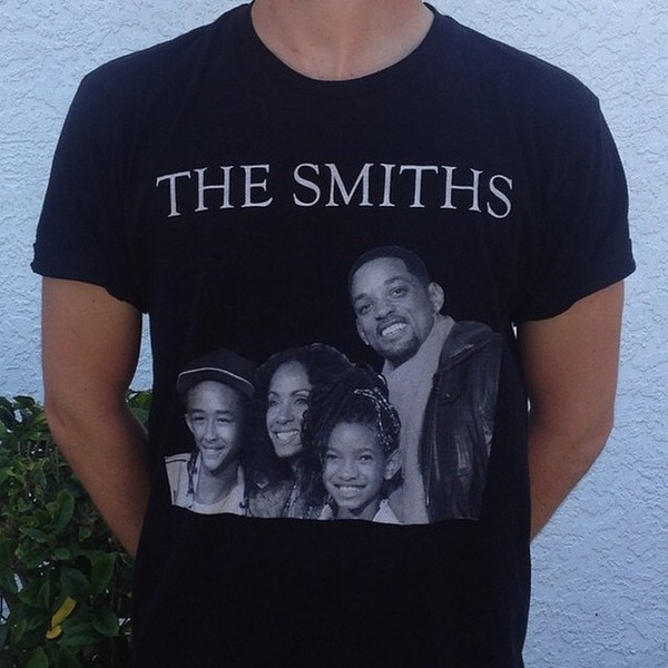 t-shirt the smiths willow smith will smith