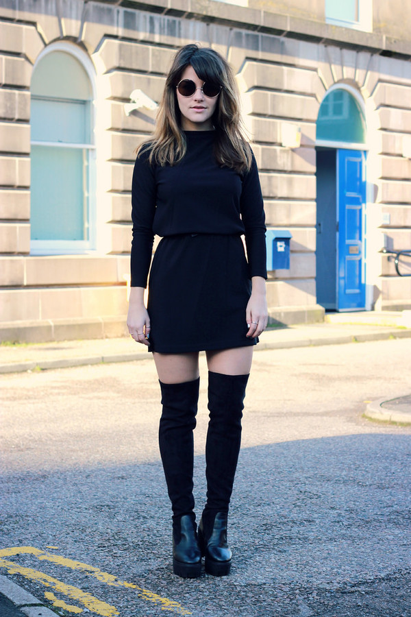 the little magpie dress sunglasses shoes