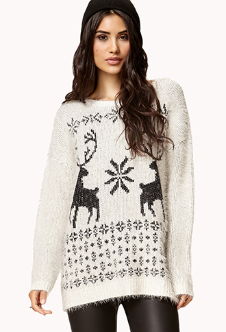 Fair Isle Sweater | FOREVER21 - 2074310598