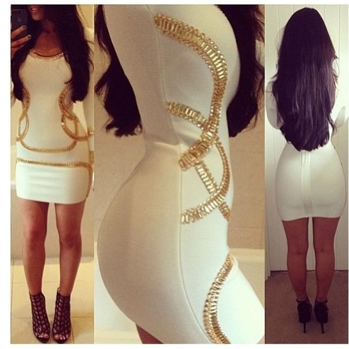 KARDASHIAN DRESS from UNIQUE STYLEZ BOUTIQUE | Square Market