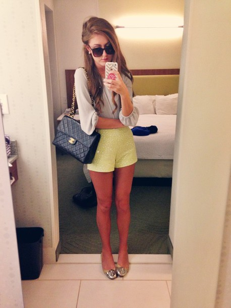 shorts shoes sunglasses