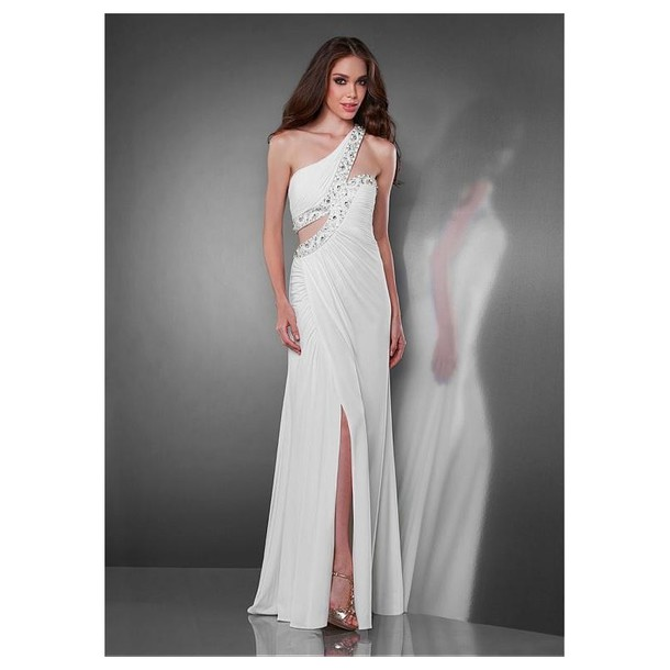 dress prom dress sweetheart neckline chiffon
