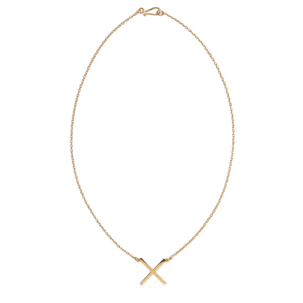 Single X Necklace - MIRLO