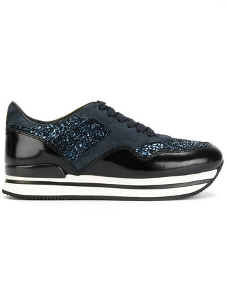women sneakers platform sneakers leather black shoes
