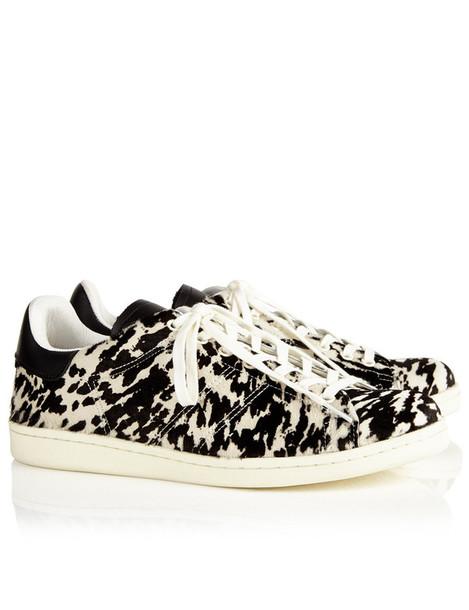 Isabel Marant etoile sneakers hair print black