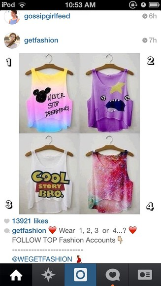 toy story galaxy print crop tops tank top disney cami adventure time style summer outfits
