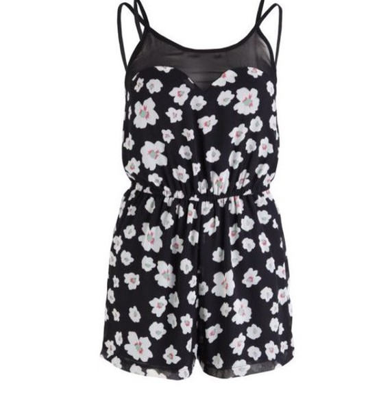 daisy romper playsuit