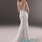 Jw13278 sexy deep v back lace sheath/mermaid wedding dresses |jw13278| :