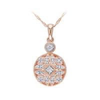 1/8 ct. tw. diamond fashion pendant