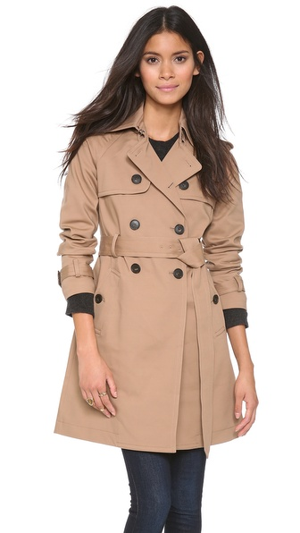 Club Monaco Emma Trench Coat |SHOPBOP | Save up to 25% Use Code BIGEVENT13