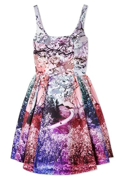 dress print dress radiant orchid dress