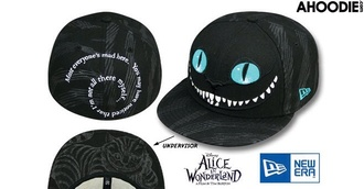 hat cats alice snapback cap new era new era hat