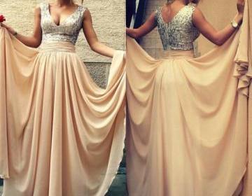 Sparkle sequin bridesmaid prom dres..