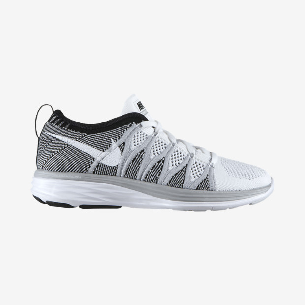 The Nike Flyknit Lunar2 Women's Running Shoe.