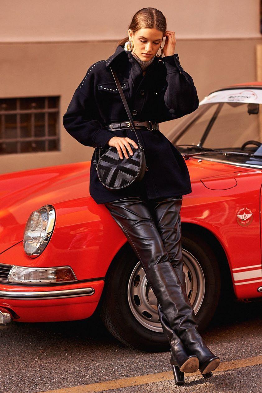 Molly Oversize Studded Coat - 36/XS - Antik Batik - Antik Batik