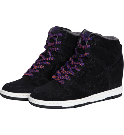 buy online 51622 7953e Nike Dunk Sky High Compensées  Noir  E-shop Citadium