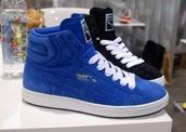 shoes,black suede sneakers,blue suede sneakers,puma