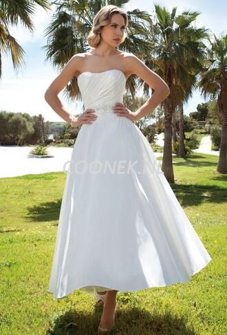 dress korte trouwjurken trouwjurken coonek