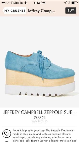 shoes jeffrey campbell platform shoes