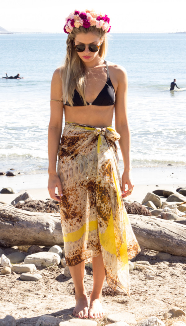 scarf sarong summer spring
