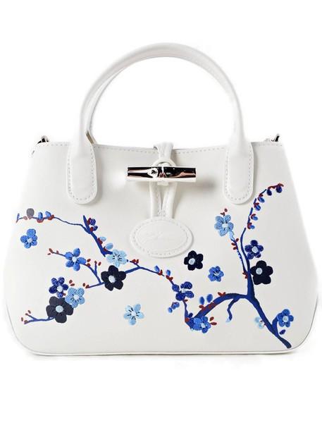 Longchamp bag shoulder bag blue