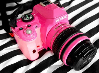 pentax pink technology jewels camera canon