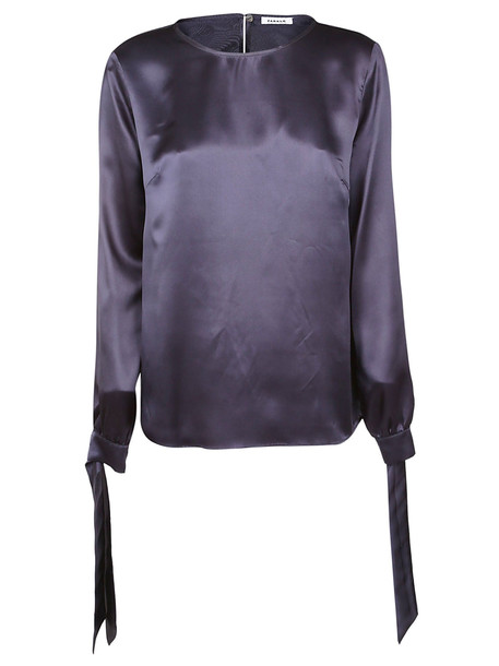 Parosh Long-sleeve Shift Blouse