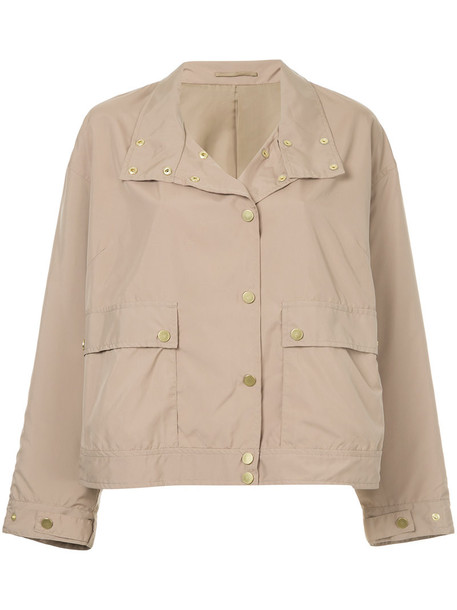 Cityshop jacket biker jacket women brown