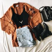 cardigan,oversized,oversized cardigan,fashion,ootd,trendy,style,outfit,fallootd,fall outfits,fall ootd,rust,rust cardigan,jacket,rust sweater,sweater,fall styles,inexpensive,clothes,bellexo