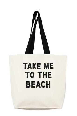 bag beach bag black fallon and royce tote bag white bikiniluxe