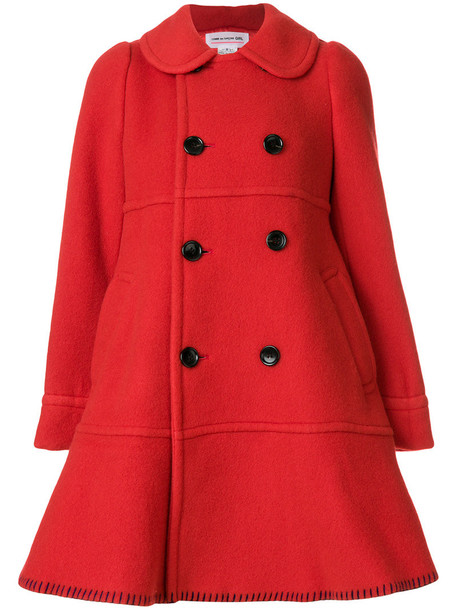 coat women red