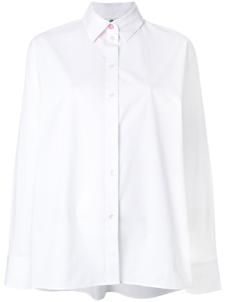 PS By Paul Smith shirt oversized shirt oversized women classic spandex white cotton top
