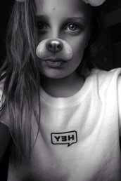 shirt,white,hey,cute,tumblr,adorable af,adorable outfit,dog