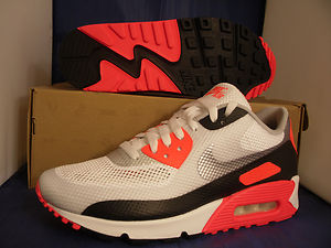 402bf7ceb896 Nike Air Max 90 Hyperfuse NRG White Grey Infrared Hyp Sz 12 5 ...