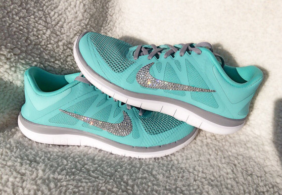 Nike Free 4.0 V4 Hyper Turquoise Tiffany Blue running shoes with ... fe13c5314b