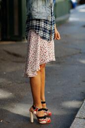 sartorialist,high heels,shoes,dress
