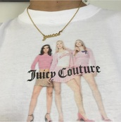 shirt,mean girls,juicy couture,t-shirt,jewels