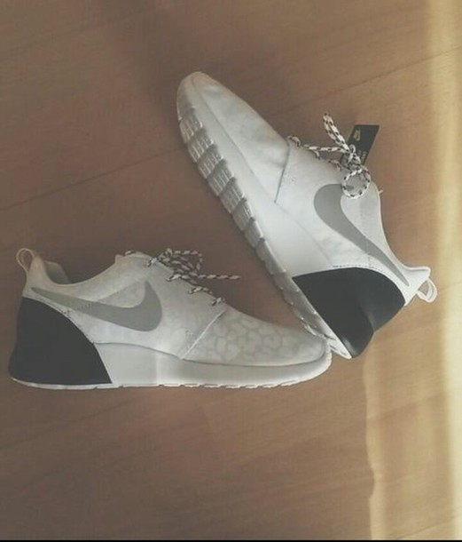 shoes nike running shoes cute shoes leopard nikes white nike shoes