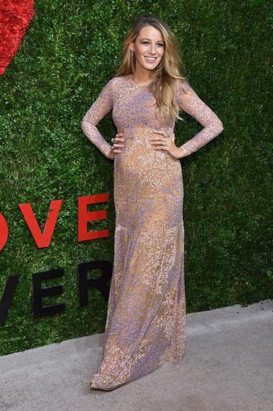 blake lively dress pretty dress long dress floor length dress Blake Lively blake lively dress