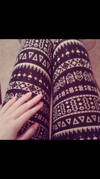 pattern black pants hipster leggings goth grunge rosy style tights
