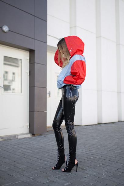 fashion agony blogger coat t-shirt pants shoes