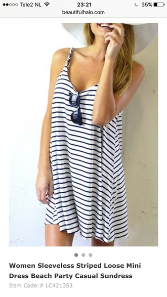 dress stripes summer casual tan fashion style trendy beautifulhalo
