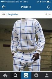blouse,aesthetic square,crewneck,matching bottom