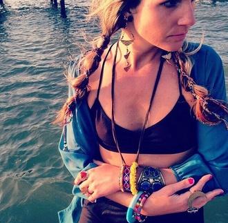 hair accessory hairwraps hippie boho gypsy boho style festival style crochet handmade coachella fashion music festivals