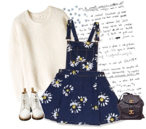 dress pretty perfect daisy sweater