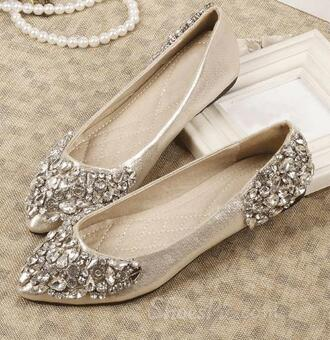 shoes rhinestone flats flats silver silver flats silver shoes rhinestone rhinestone shoes