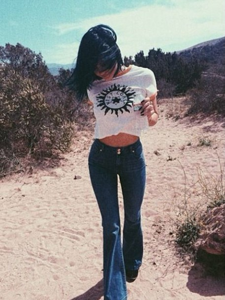 jeans kylie jenner top