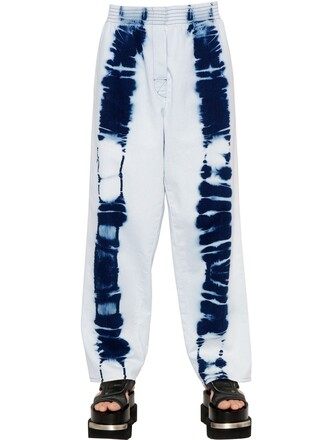 jeans tie dye cotton blue