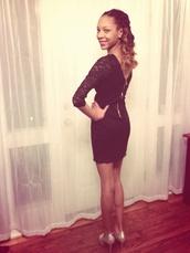 dress,elfbeauty29,little black dress,lace dress,black dress,daisy,pullover,daisy pullover,daisy sweater