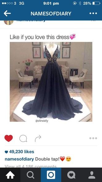 dress black dress long prom dress long long dress sleveless black lace dress prom gown gown